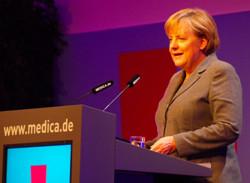 Merkel_medica_2013©Detlef_Borchers