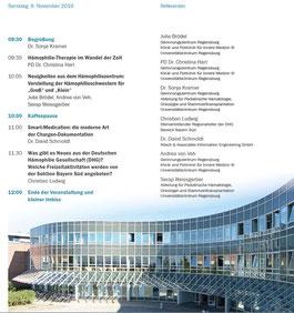 Patiententag 2019 in Regensburg