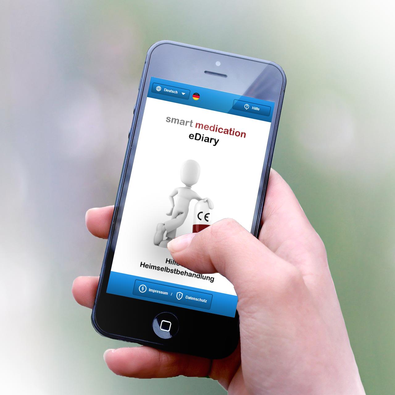 smart medication eDiary – modernes Therapiemanagement